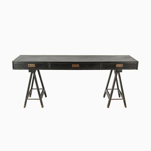 French Console or Desk by Jacques Adnet, 1950s