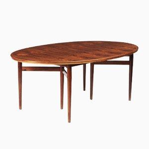 Tavolo da pranzo modello 212 ovale di Arne Vodder per Sibast, anni '60
