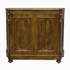 Antique Small Golden Cabinet