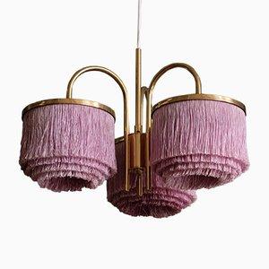Lampe à Suspension Silk Fringe par Hans-Agne Jakobsson pour Hans-Agne Jakobsson AB Markaryd, 1960s
