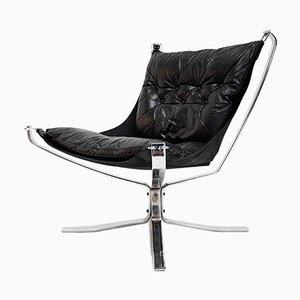 Silla Falcon de Sigurd Ressell para Vatne Møbler, años 70