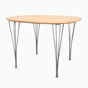 Table de Salle à Manger Vintage par Piet Hein & Bruno Mathsson pour Fritz Hansen