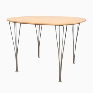 Vintage Dining Table by Piet Hein & Bruno Mathsson for Fritz Hansen