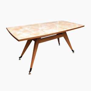 Mid-Century Italian Sculptural Dining Table, 1950s