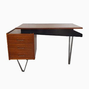 Teak Desk by Cees Braakman for Pastoe, 1950s