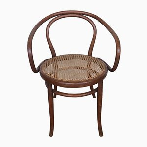 Antique Austrian Bentwood and Cane Chair from Jacob & Joseph Kohn