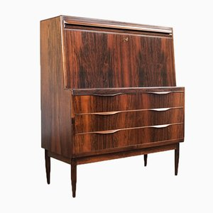 Rosewood Secretary Desk by Erling Torvits for Klim Møbelfabrik