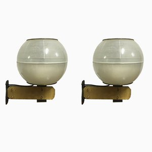 Italian Wall Lights by Greco, 1960s, Set of 2