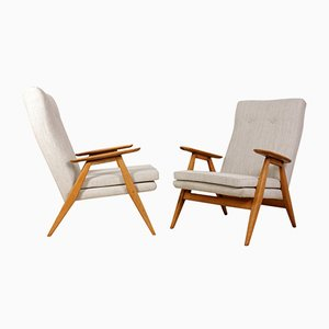 French Mid-Century Armchairs, 1960s, Set of 2