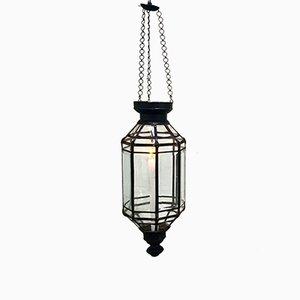 Vintage Suspended Lantern or Candleholder