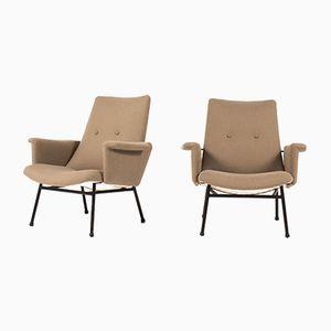 SK660 Sessel von Pierre Guariche für Steiner, 1950er, 2er Set