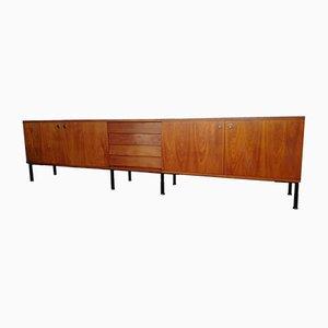 Large Modernist Teak Sideboard, 1960s