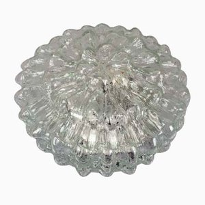 Vintage Space Age Decken-oder Wandlampe aus Sideglas