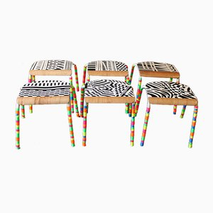 Venezia Stools by Markus Friedrich Staab, 2018, Set of 6