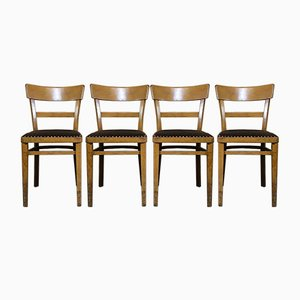Frankfurt Kitchen Dining Chairs, 1960s, Set of 4