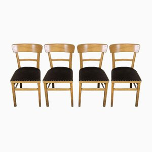 Mid-Century Frankfurt Kitchen Dining Chairs, 1960s, Set of 4
