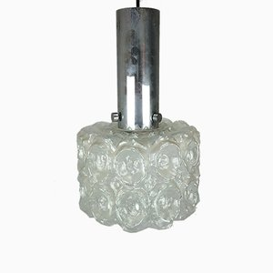 Bubble Ceiling Lamp in Glass and Chrome from Limburg, 1960s