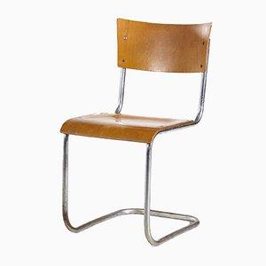 Stühle mit Chromgestell, 1970er