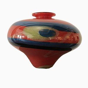 Romanian Córdoba Pear Vase by Ioan Nemtoi, 1990s