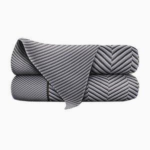 Couverture Gravel & Marle en Laine Merino par Blankets & Throws