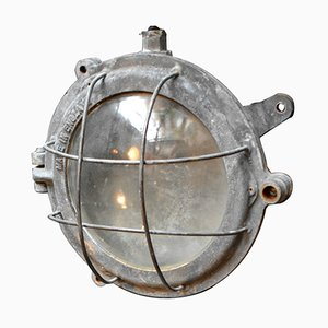 Mid-Century Industrial Bulkhead Light