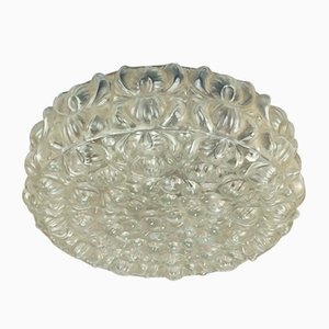 German Glass Bubble Ceiling or Wall Lamp, 1970s