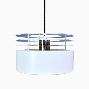 Model Hydra 2 Metal Ceiling Pendant by Johannes Hammerborg for Fog & Mørup, 1969