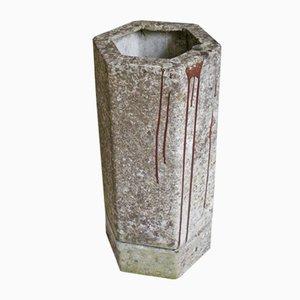 Vaso vintage esagonale