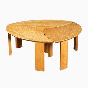 Table Basse en 3 Pièces en Chêne, Danemark, 1960s