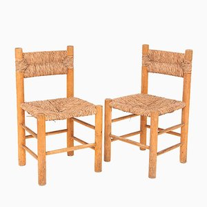 French Chairs by Charlotte Perriand, 1950s, Set of 2