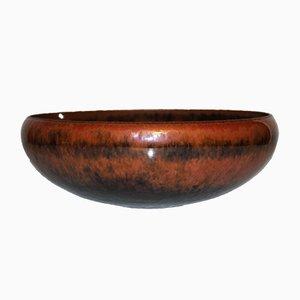 Cuenco Mid-Century grande de cerámica de Carl-Harry Stålhane para Rörstrand