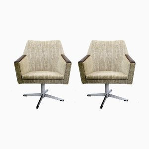 Swivel Armchairs, 1970s, Set of 2
