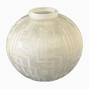 Art Deco Vase by Jean Daum, 1930s