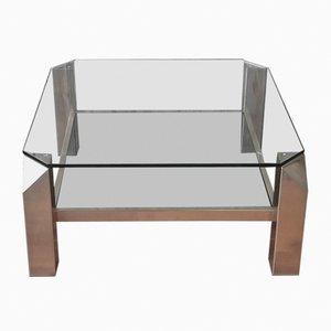 Table Basse de Belgo Chrome, 1970s
