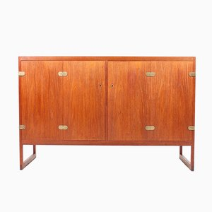 Danish Teak Sideboard by Børge Mogensen for P. Lauritzen, 1950s