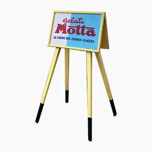 Vintage Gelati Motta Sign