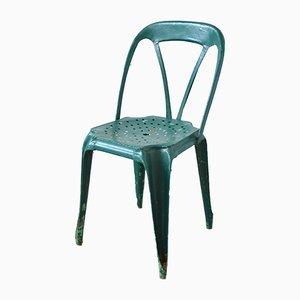 Chaise en Vert Foncé par Joseph Mathieu, 1920s