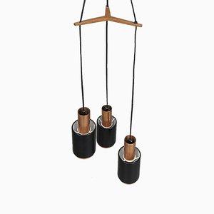 Lámpara colgante Tunika vintage de Jo Hammerborg para Fog & Mørup