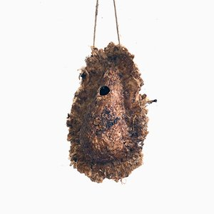 Filter Factory Bird House from Cigarette Filters by Isaac Monté