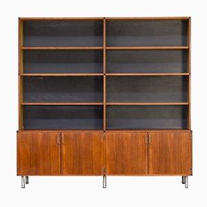 Libreria realizzata su misura di Cees Braakman per Pastoe, anni '60