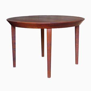 Vintage Scandinavian Teak Dining Table by Ole Hald for Gudme Møbelfabrik