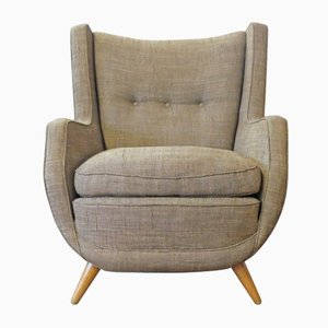 Italian Wingback Armchair by Paolo Buffa, 1950s