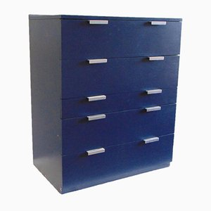 Navy Blue Chest of Drawers by John & Sylvia Reid for Stag, 1970s