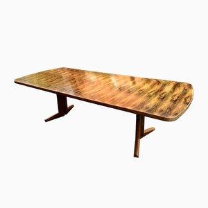 Mesa de comedor Marwood Range de palisandro de Martin Hall para Gordon Russell, años 70