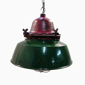 Explosion Proof Factory Ceiling Light from Maxlume, 1950s