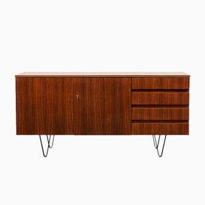 Vintage Sideboard aus Nussholz, 1960er