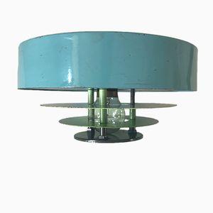 Wandlampe aus lackiertem Metall, 1960er