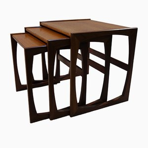 Tables Gigognes Quadrille en Teck de G-Plan, 1960s