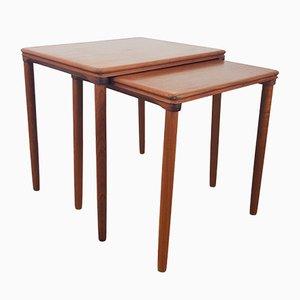 Tables Gigognes par E W Bach pour Mobelfabrikken Toften, 1960s