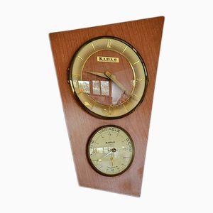 Orologio vintage in formica di Kiplé, anni '60